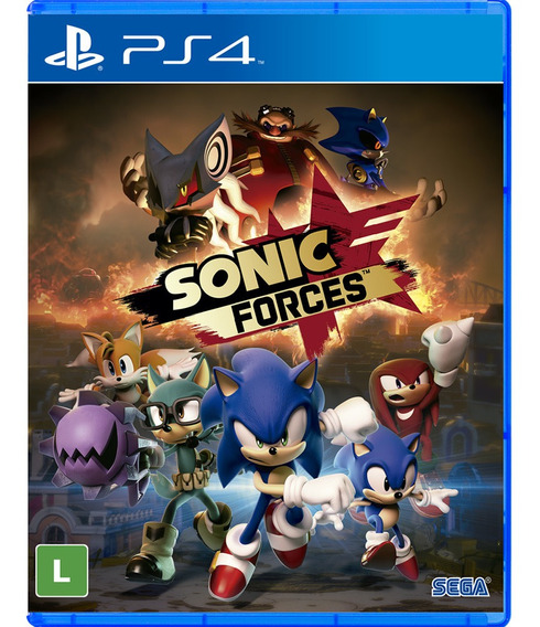 Sonic Forces Ps4 Digital Psn Primária Vitalício
