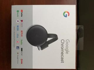 Chromecast 3era Generacion Nuevo !