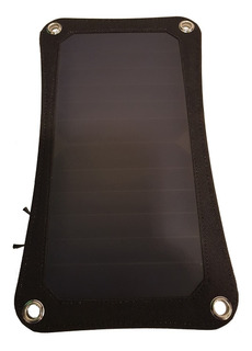 Cargador De Celular Por Usb Con Panel Solar Portatil 5v 6.5w