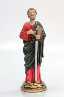 Imagem Escultura São Paulo Apostolo Resina 30cm