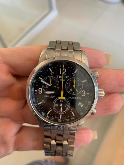 Relógio Tissot Pcr 200 Prata Aço Inox