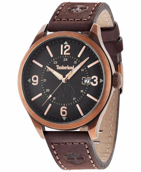 Relógio Timberland Tbl14645jsqr02 Blake Brown Watch