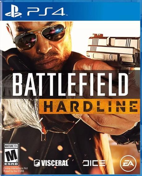Battlefield Hardline Ps4 Juego Original Fisico Sellado