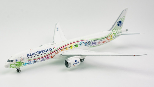 Miniatura Avião Ng Models 1:400 Aeromexico Boeing B 787-9