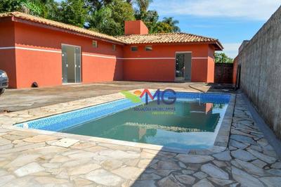 Chácara Com 4 Dormitórios À Venda, 820 M² Por R$ 360.000 - Jardim Estância Brasil - Atibaia/sp. Apta Para Financiamento Bancário. - Ch0105