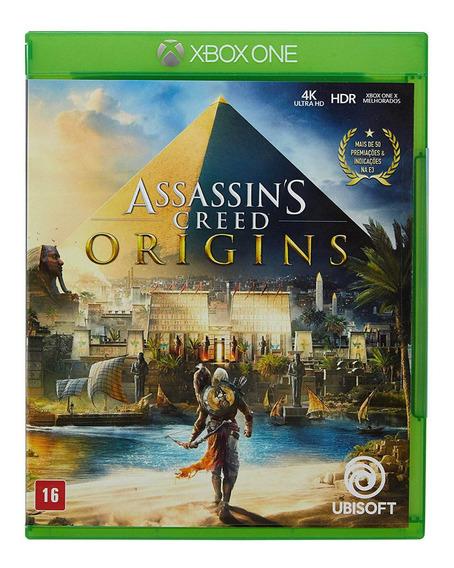 Assassins Creed Origins Xbox One Mídia Física Lacrada Br