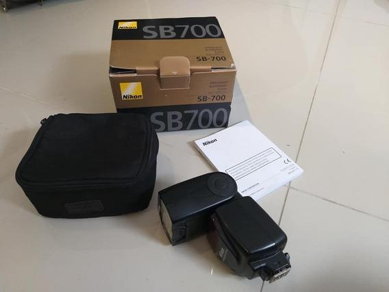 Flash Original Nikon Sb 700 Com Caixa E Manual