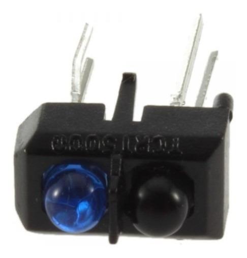 10pç Sensor De Reflexão Tcrt5000 Seguidor De Linha