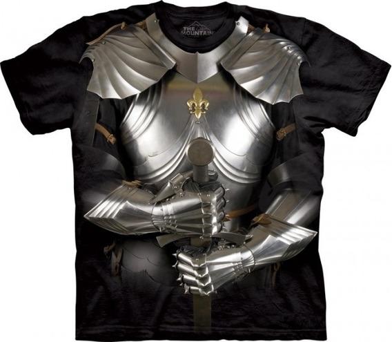 Camiseta Armadura 3d