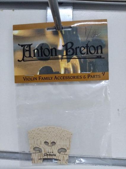Puente Cremona ( Anton Breton) Para Violin