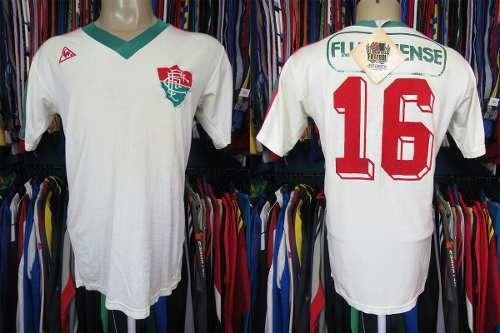 Fluminense 1983 Camisa Reserva Tamanho G Número 16.