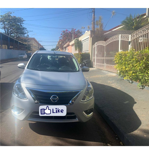 Nissan Versa 2019 1.6 16v Sl Aut. 4p