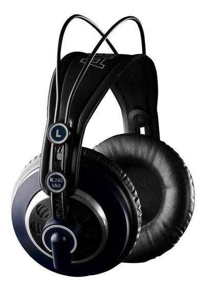 Fone de ouvido AKG K240 MKII preto