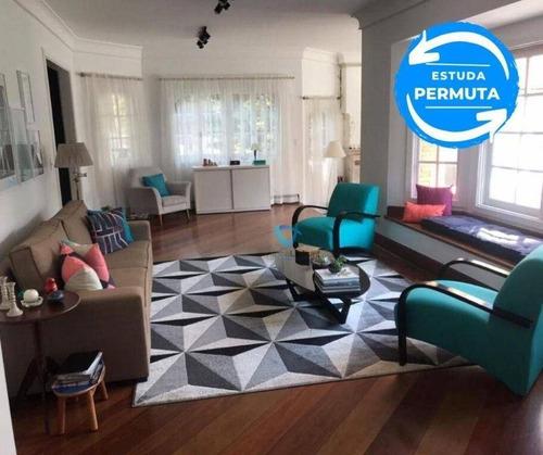 Imagem 1 de 24 de Casa Com 4 Dormitórios, 600 M² - Venda Por R$ 4.000.000,00 Ou Aluguel Por R$ 18.300,00/ano - Alphaville - Santana De Parnaíba/sp - Ca0381