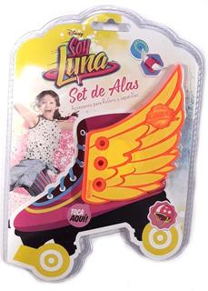 Set De Alas Para Patin O Zapatillas Soy Luna Original Alitas