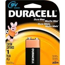 Bateria 9 V Duracell Original
