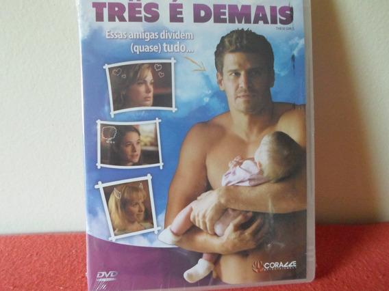 Dvd Três É Demais - Dublado Em Português - Lacrado