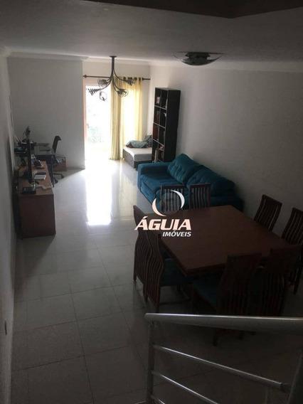 Sobrado Com 3 Dormitórios À Venda, 160 M² Por R$ 500.000,00 - Vila Pires - Santo André/sp - So1278