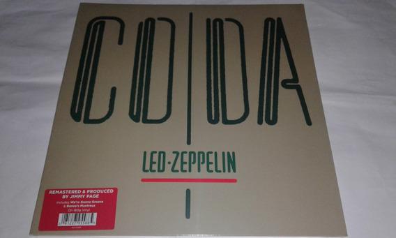 Lp Led Zeppelin Coda 2015 Imp Usa 180g Novo E Lacrado