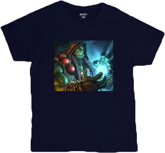 Playeras Warcraft Video Juegos, Transfer Niños