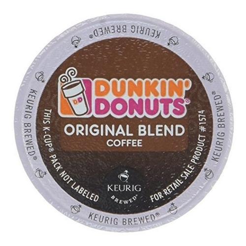 Imagen 1 de 7 de Dunkin Donuts K-cups Original Flavor Medium Roast - Caja De
