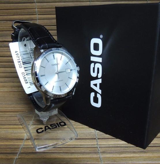 Relógio Casio Masculino - Mtp-v004l-7audf (n.f. E Garantia)