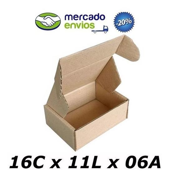 25 Caixas De Papelão 16 X 11 X 06 Correio N°0 Auto Pac Sedex