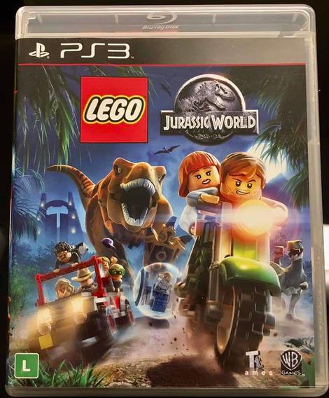 Jogo Ps3. Orig. Lego Jurassic World