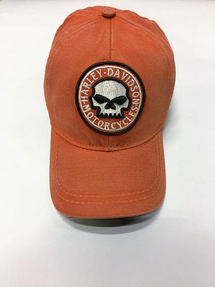 Boné Harley Davidson Skull
