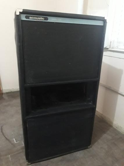 Unica! Caja Bajo Acoustic Model B408 4x15 Restaurada Permuto