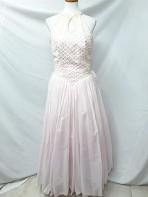 Vestido Para Xv Años Rosa Pastel Con Perlas