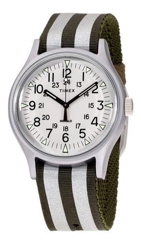 Imagen 1 de 4 de Timex Mk1 Reloj De Cuarzo Con Esfera Plateada Unisex Tw2r809