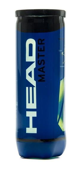 Bola De Tênis Head Master Tubo Com 3 Bolas
