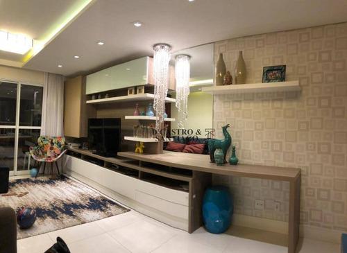 Imagem 1 de 21 de Apartamento Com 2 Dormitórios À Venda, 79 M² Por R$ 755.000,00 - Mooca - São Paulo/sp - Ap0484