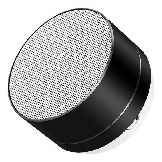 Mini Caixa De Som Bluetooth A-10 Metálica