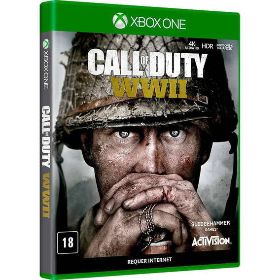 Call Of Duty Wwii (mídia Física 100% Pt-br) - Xbox One