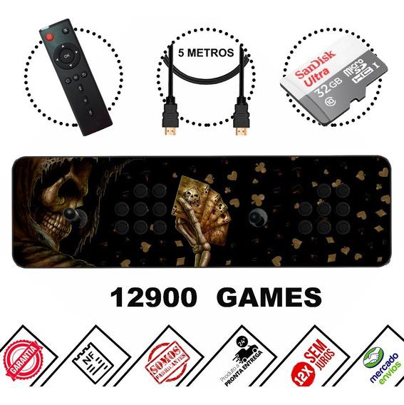 Fliperama Portátil - 12mil Jogos + Multimídia ! Aproveite!