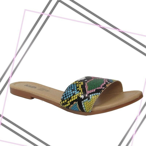 Sandalia De Moda Multicolor