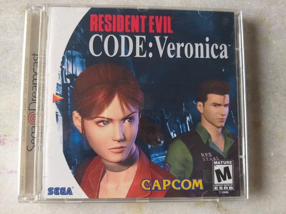 Dreamcast Resident Evil Code Veronica Original Americano