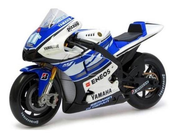 Miniatura Yamaha Factory Racing Moto Gp 2012 N11 Maisto 1/10