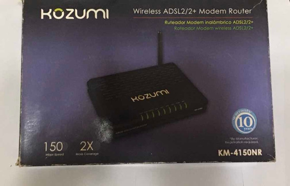 Modem Router Kozumi Wireless Adsl2/2+ Inalámbrico