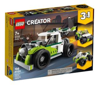 Juguete Lego Creator 3 En 1 Camion A Reaccion 198 Piezas