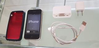 iPhone 3gs 16gb Funciona C/ Base E Capa