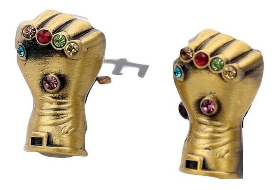 Marvel Mancuernillas Avengers Endgame Thanos Guantelete