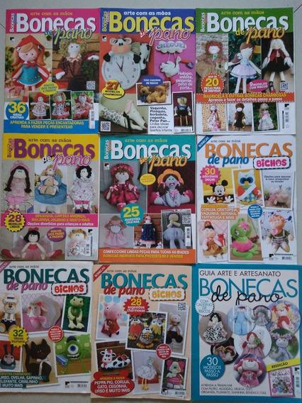 Kit Com 100 Revistas De Boneca De Pano. Revenda E Lucre!