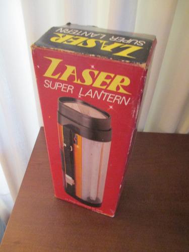 Lanterna Laser - Vintage - Perfeita E Na Caixa Original