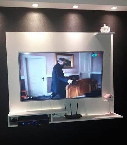 Panel Rack Flotante 100cm X 80cm Smart Tv Led Lcd 17 A 43