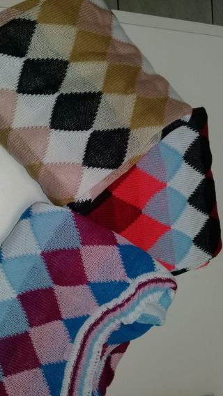 Cropped Feminino Estampado Escocesa Blusinha Feminina Blusas