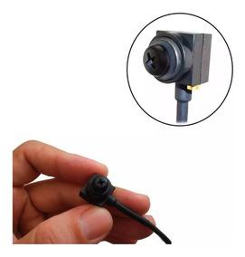 Mini Micro Camera Espia Formato Parafuso 1000 Linhas Rca Nf