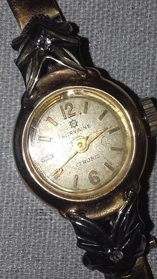 Relógio Mirvaine Em Ouro 18 Quilates 1950